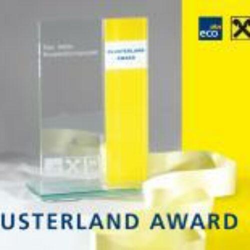 Nominierung zum Clusterland Award